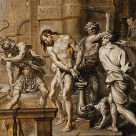 The Flagellation - Abraham Jansz van Diepenbeeck