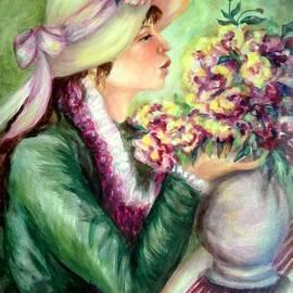 Em Scott - The flower sniffer