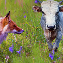 Ericamaxine Price - The Fox and Bull - Painted