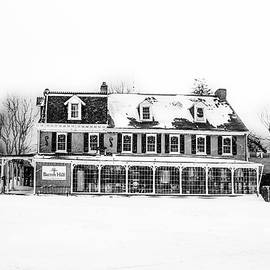 Bill Cannon - The General Lafayette Inn - Barren Hill Brewery in Black and Whi