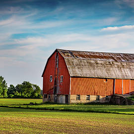 Brent Buchner - The Glow on the Barn