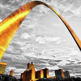 Gregory Ballos - The Golden Arch - Sunlight On Saint Louis Skyline