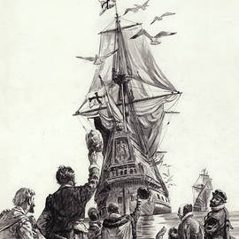 The Golden Hind  - CL Doughty