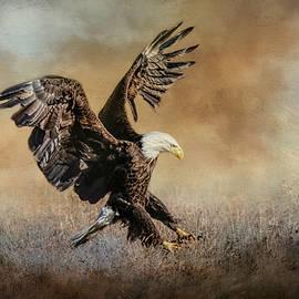 Jai Johnson - The Grass Gathering Bald Eagle Art