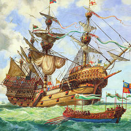The Great Harry, flagship of King Henry