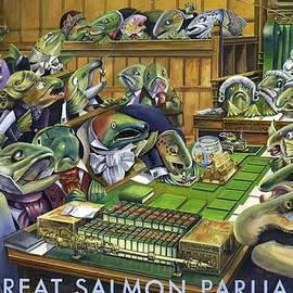 Robert Brent - The Great Salmon Parliament