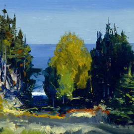 The Grove - Monhegan - George Bellows
