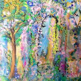 Judith Desrosiers - The healing garden