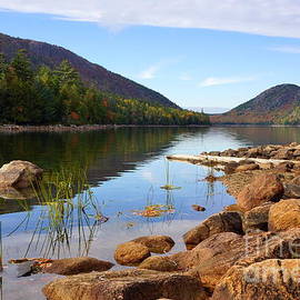 Elena Alexandrova - The Jordan Pond, Acadia National Park
