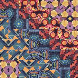 Helena Tiainen - The Joy of Design Mandala Series Puzzle 5 Arrangement 6