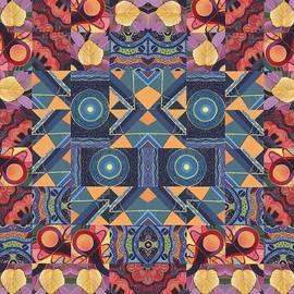 Helena Tiainen - The Joy of Design Mandala Series Puzzle 5 Arrangement 9