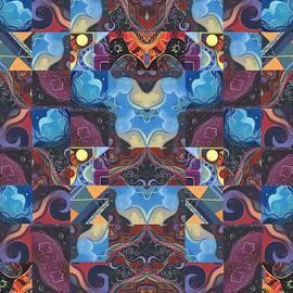 Helena Tiainen - The Joy of Design Mandala Series Puzzle 6 Arrangement 1
