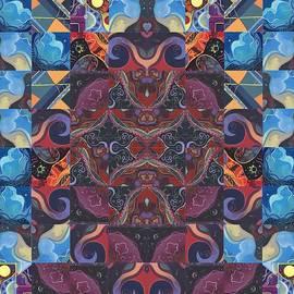 Helena Tiainen - The Joy of Design Mandala Series Puzzle 6 Arrangement 2