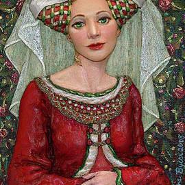 Jane Bucci - The Lady Mae   Bas Relief Miniature