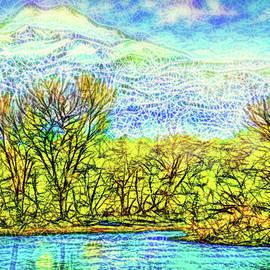 Joel Bruce Wallach - The Lake At Dusk - Boulder County Colorado