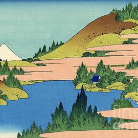 Hokusai - The lake of Hakone in the Segami province
