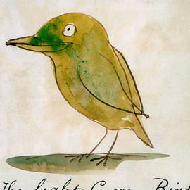 The Light Green Bird - Edward Lear