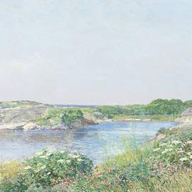 The Little Pond, Appledore - Childe Hassam