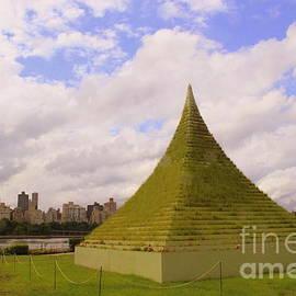 Dora Sofia Caputo Photographic Art and Design - The Living Pyramid and Manhattan Skyline