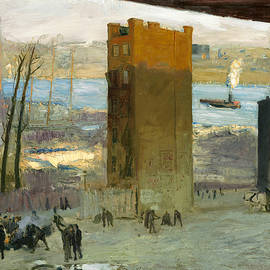 The Lone Tenement - George Bellows