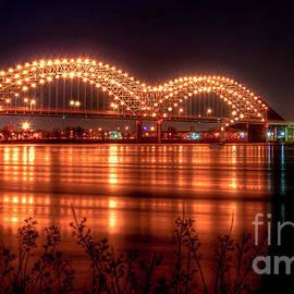 Reid Callaway - The M Bridge Memphis Tennessee Bridge Art