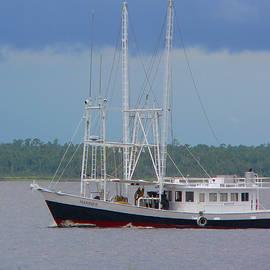 Kathy K McClellan - The Mariner In The Bay