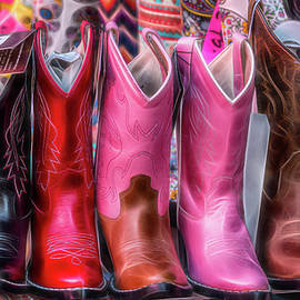 Patti Deters - The Market - Cowboy Boots - Series 4/4