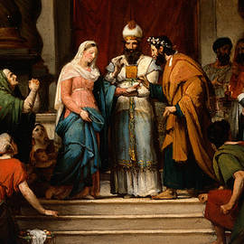 The Marriage of the Virgin - Jerome Martin Langlois
