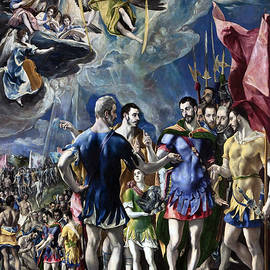 The Martyrdom of St Maurice - El Greco