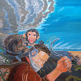 Lazaro Hurtado - The massacre of reflections