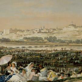 The Meadow of San Isidro - Francisco Goya