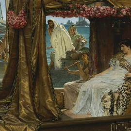 The Meeting of Antony and Cleopatra - Lawrence Alma-Tadema