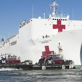Celestial Images - The Military Sealift Command hospital ship USNS Comfort