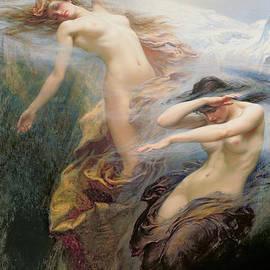 Herbert James Draper - The Mountain Mists