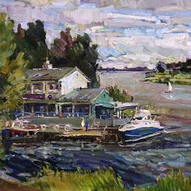 Juliya Zhukova - The old dock