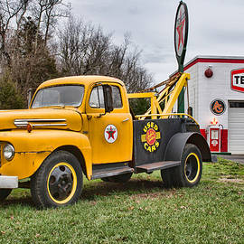 Kristia Adams - The Old Ford Tow Truck
