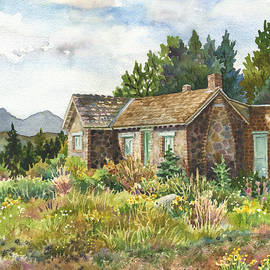 Anne Gifford - The Old Moore House at Caribou Ranch