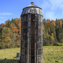 The Old Silo Vermont - Edward Fielding