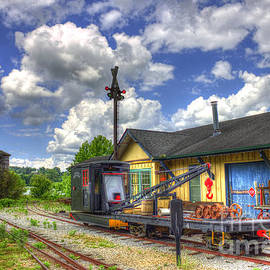 Reid Callaway - The Old Train Station and Water Tower