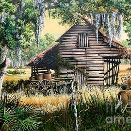 Daniel Butler - The Old Turpentine Barn-A Florida Memory