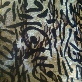 Sherri  Of Palm Springs - Abstract  Oriental Zebra by Sherriofpalmsprings