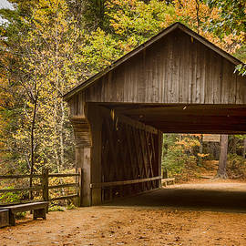 Jeff Folger - The original Taft covered bridge
