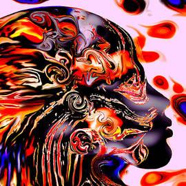 Abstract Alien Artist Stephen K - The Outsider
