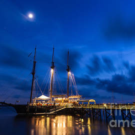 Dawna  Moore Photography - The Peacemaker at Twilight St. Marys Georgia