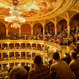 Madeline Ellis - The People at the Budapest Opera House