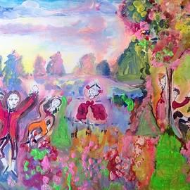 Judith Desrosiers - The pink Garden