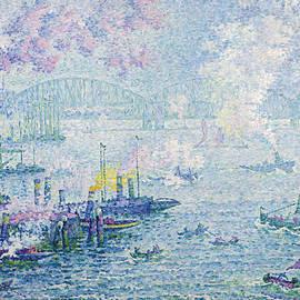 The Port of Rotterdam - Paul Signac