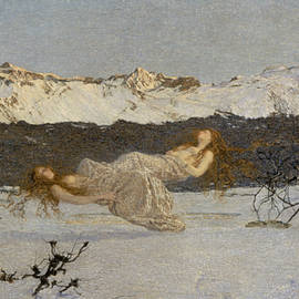 The Punishment of Lust  - Giovanni Segantini