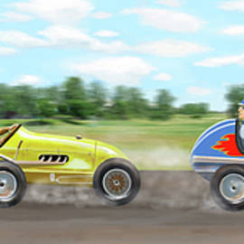 The racers - Gary Giacomelli