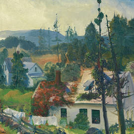 The Red Vine, Matinicus Island, Maine - George Bellows
